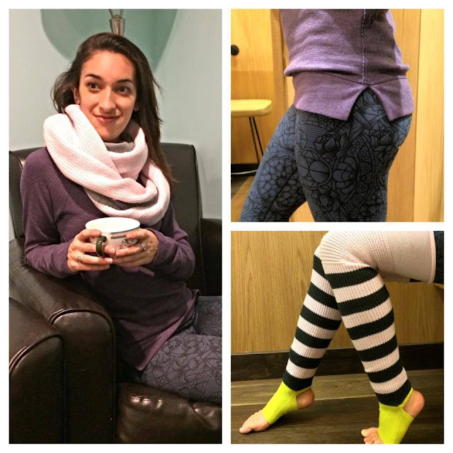 lululemon blissed out legwarmers prisma wunder under pant