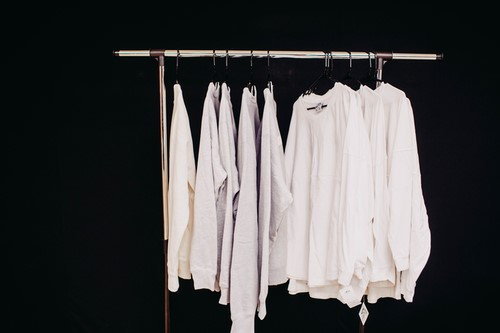 white shirt, hanger Taking A Look at Stock Market Themed Fashion and Apparel, Fashion, wall street, fashion stock market,
