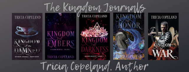Kingdom of War by Tricia Copeland is being released on June 21st!