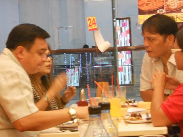 Bonel Balingit and friends at Chicken Deli