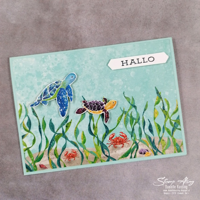 Stampin' Up! Whale in Time DSP