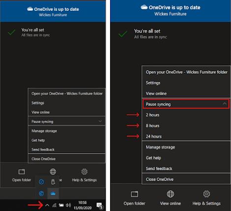 Sinkronisasi OneDrive