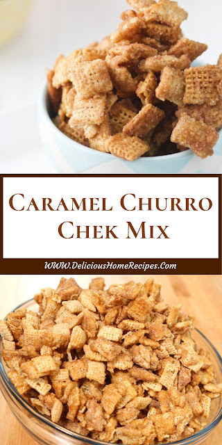Caramel Churro Chek Mix