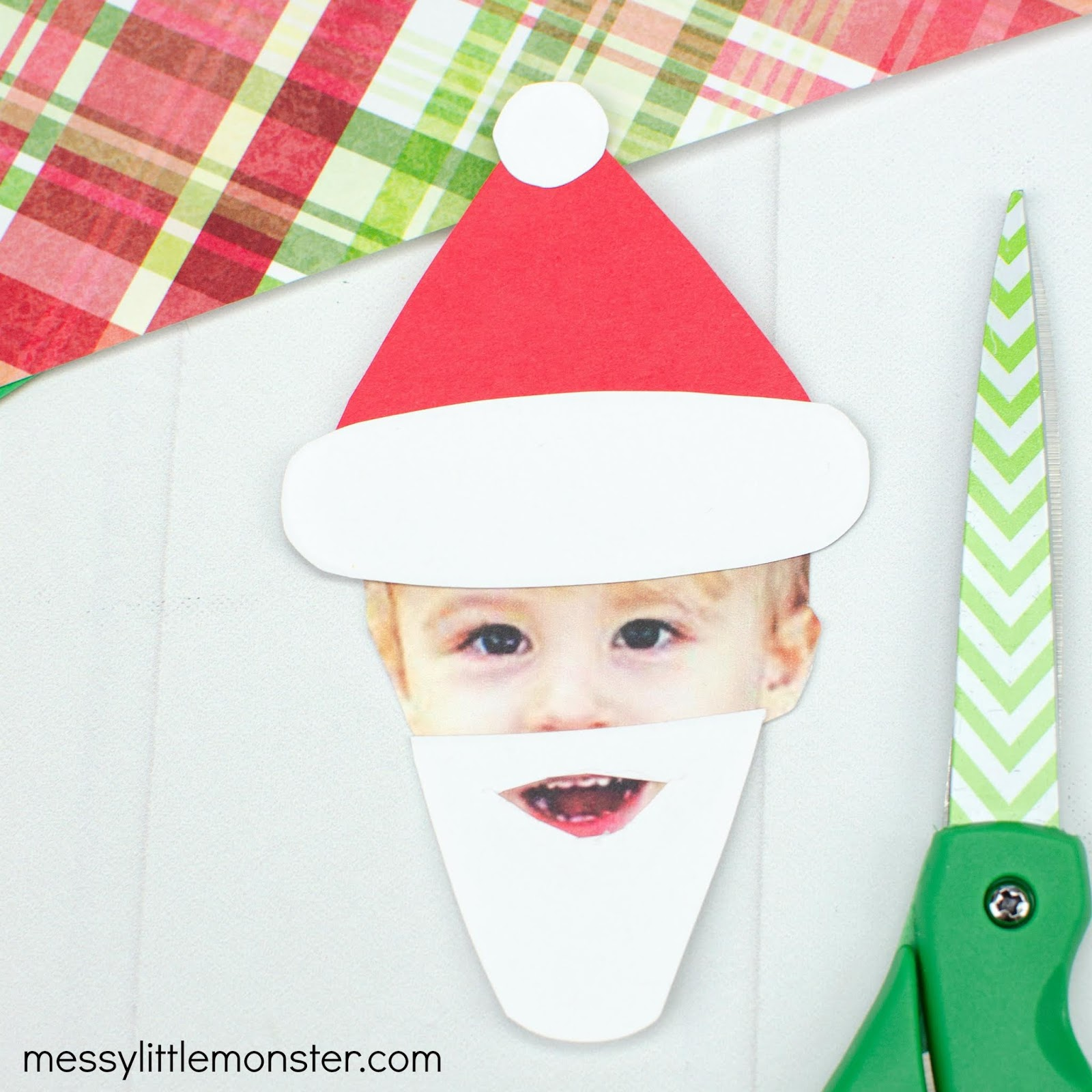 Santa craft for kids