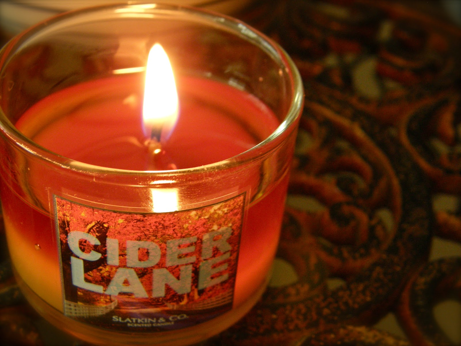 can can dancer bath body works fall mini candle. Black Bedroom Furniture Sets. Home Design Ideas
