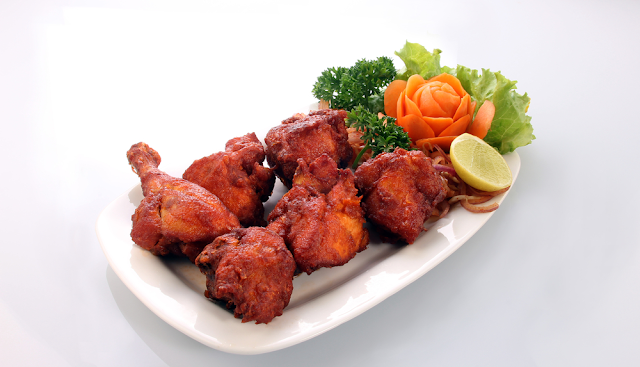 chicken kabab recipe is ready.