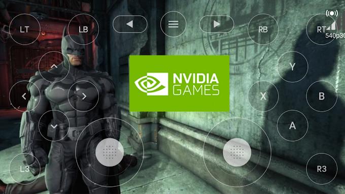 NVIDIA GAMES CONTROLE VIRTUAL NA TELA APK