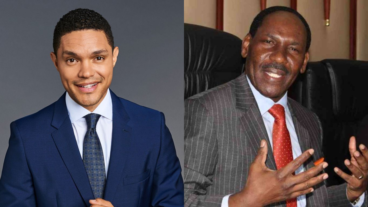 Trevor Noah Savagely Roasts Ezekiel Mutua On The Daily Show