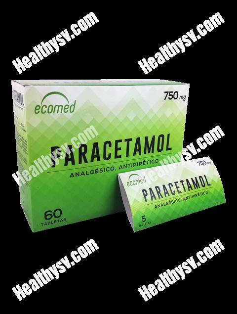 Paracetamol Ecomed tablets