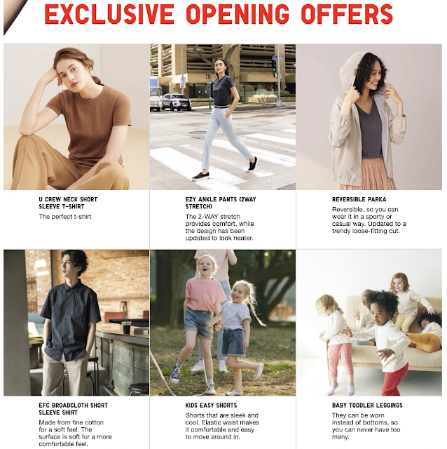 uniqlo online store ph exclusive opening offers
