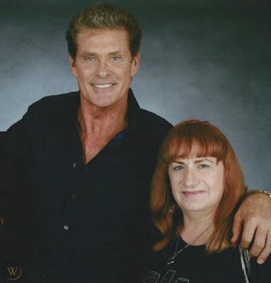 David Hasselhoff y Patricia McPherson