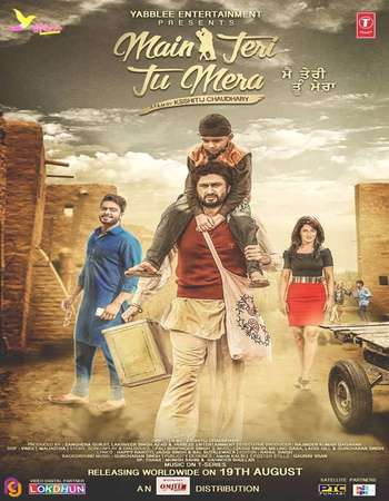 Poster Of Main Teri Tu Mera 2016 Punjabi 550MB HDRip 720p ESubs HEVC Watch Online Free Download downloadhub.in