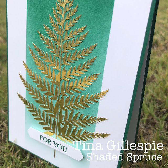 scissorspapercard, Stampin' Up!, Colour Creations, Forever Gold Specialty Paper, A Good Man
