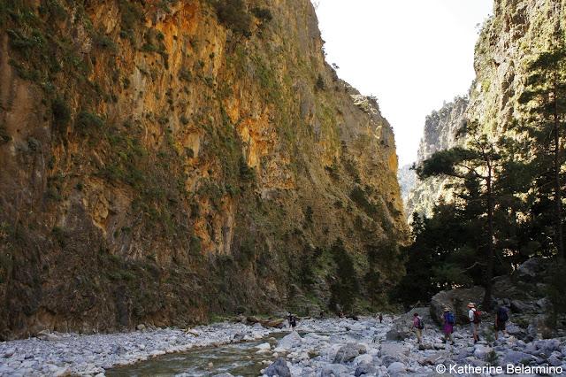 The Gates Samaria Gorge Hike Crete Greece