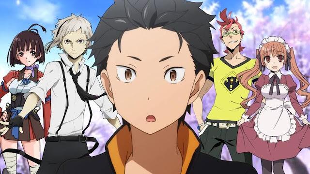 20+ Anime 2016 Yang bisa kamu  DOWNLOAD Sekarang juga mulai dari musim Spring-Winter
