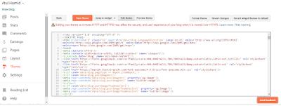Menu dan Sub-Menu HTML di blog Tidak Berfungsi. Cara atasinya