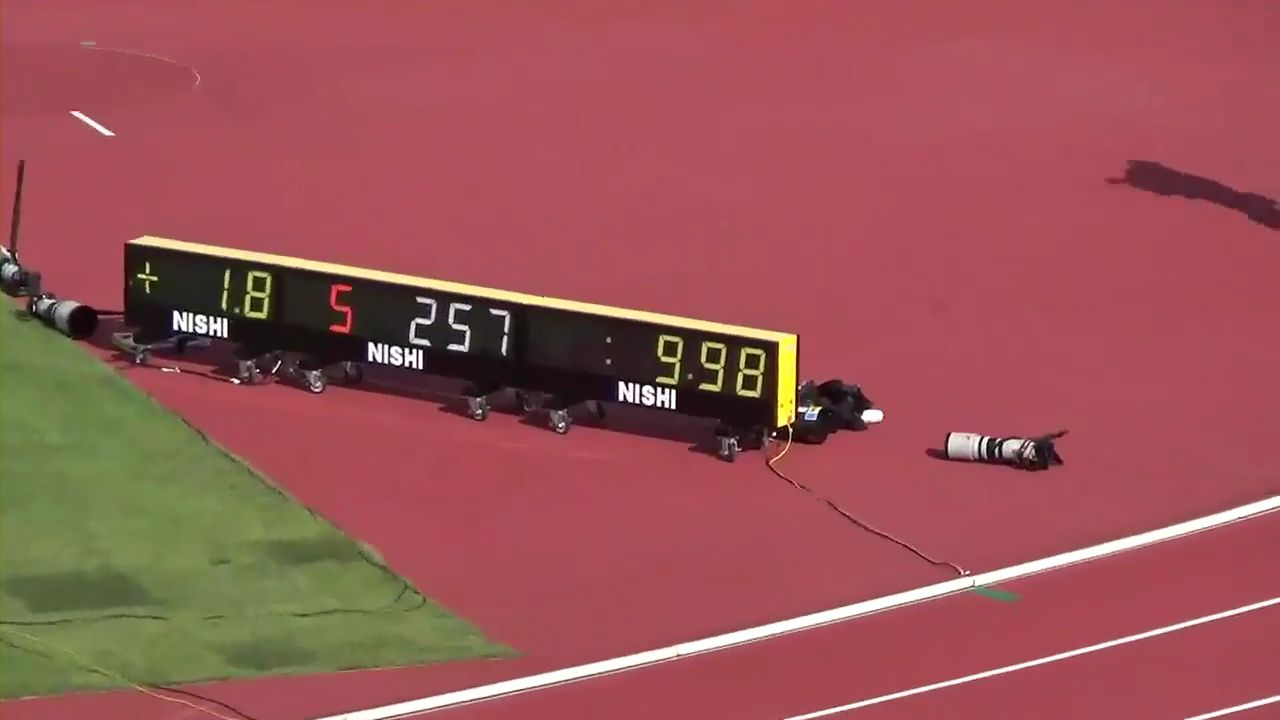外国人「桐生祥秀が男子100mで日本人初の9秒台を叩き出したぞ」(海外の反応)