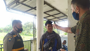Di Gereja Binmas Polsek Pangalengan Polresta Bandung Imbauan 5M Bagi Umat Kristiani