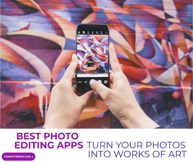 meilleurs applications d'édition de photos