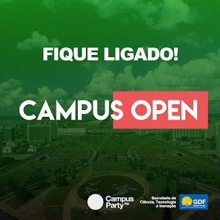 Aproveite a Open Campus é gratuita