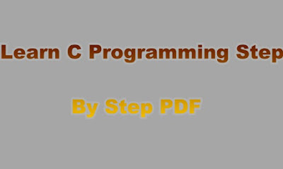 Learn C Programming Step By Step PDF