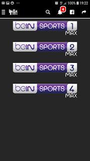 تحميل تطبيق yalla stream apk لمشاهدة القنوات الرياضية المشفرة لهواتف الاندرويد 2019