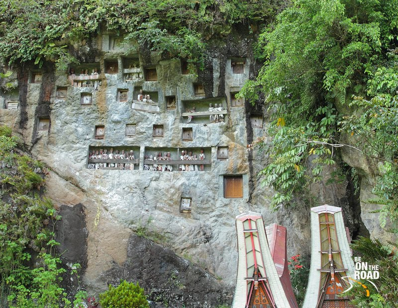 Lemo Graveyard of Tana Toraja, Indonesia