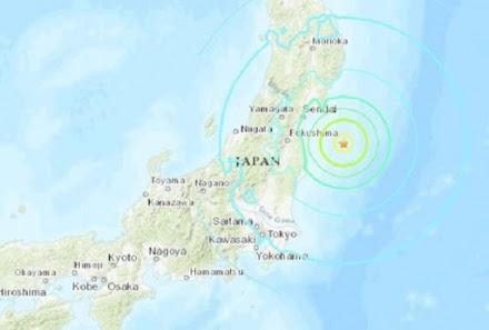 Ιαπωνία: Σεισμός 7,1 Ρίχτερ ανοικτά της Φουκουσίμα