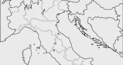 Mapa De Italia Mudo.Departamento De Cultura Clasica I E S Benazaire Mapa De