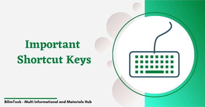 Computer keyboard all shortcut keys - PDF Download