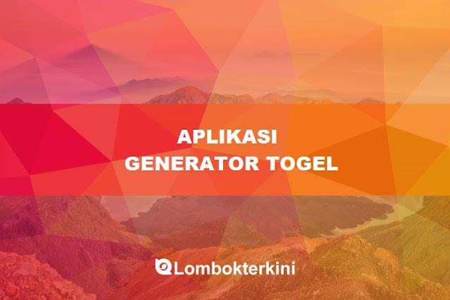 Aplikasi Generator Togel Jitu 2021