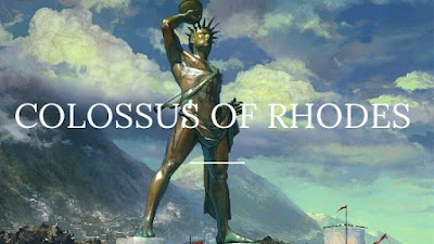 Colossus of Rhodes one of the wonder
