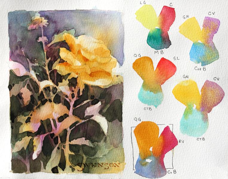 Brenda Swenson: Negative Painting