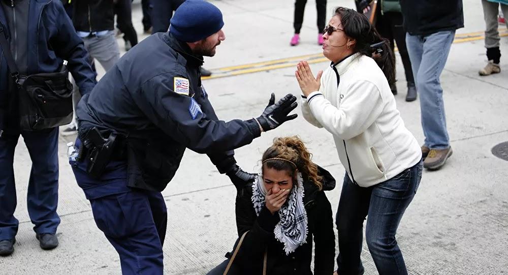 الأمم المتحدة تدعو الشرطة الأمريكية إلى عدم استخدام العنف ضد المحتجين