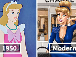 Ilustrador de moda mostra como as princesas da Disney ficaria se fizessem compras hoje
