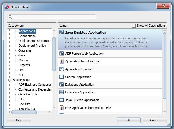 Create POJO based JAX-WS WebService easily with Jdeveloper