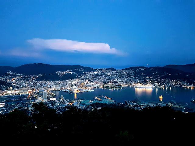 【长崎景点】长崎稻佐山360度价值千万的长崎夜景 Nagasaki Night View on Mount Inasa