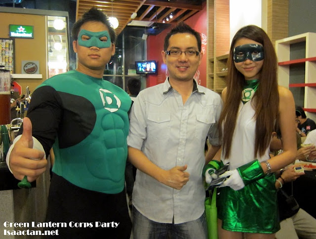 Green Lantern Corps Party