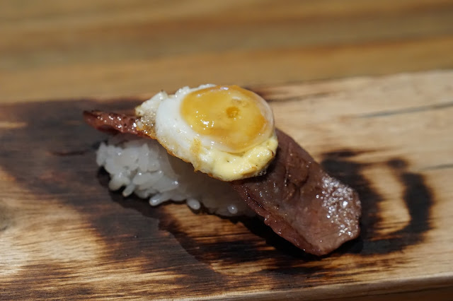 Maido's waygu beef shortrib with fried rice and egg