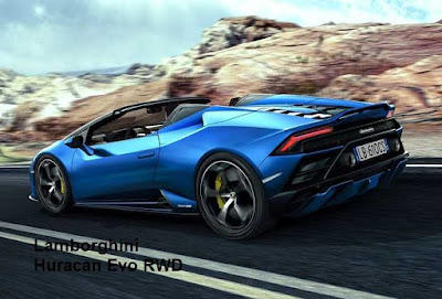 Get the Lamborghini Huracan Evo RWD in the form of Spider
