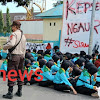 Siswa SMKN 1 Takalar, Demonstrasi Minta Kepala Sekolah Mudatsit Dicopot