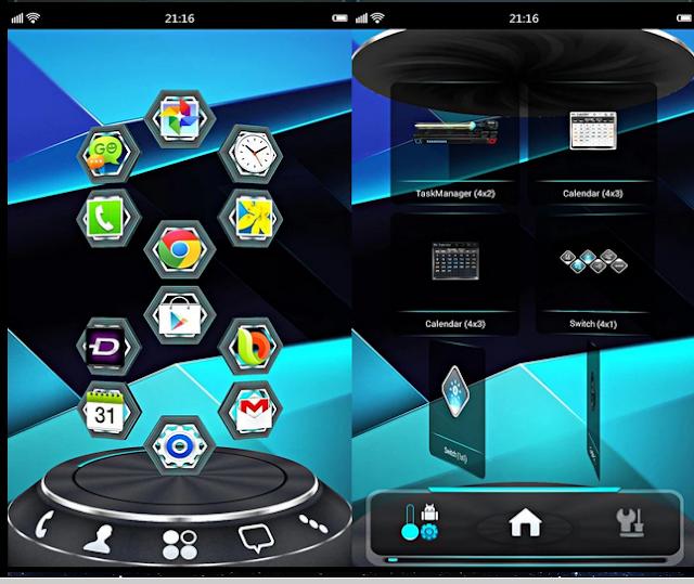 Next Launcher 3D Shell V3.7.3.1 Cracked APK