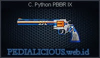 C. Python PBBR IX