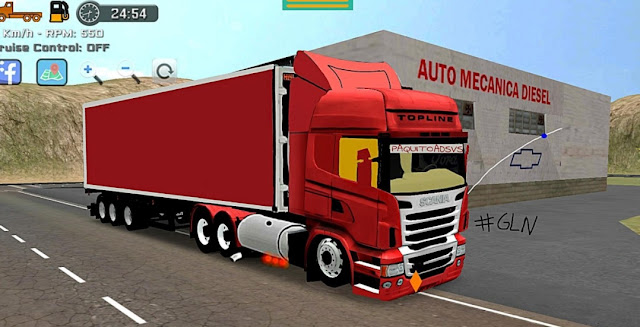 Cara Merubah Jenis Stir di Game Grand Truck Simulator 2