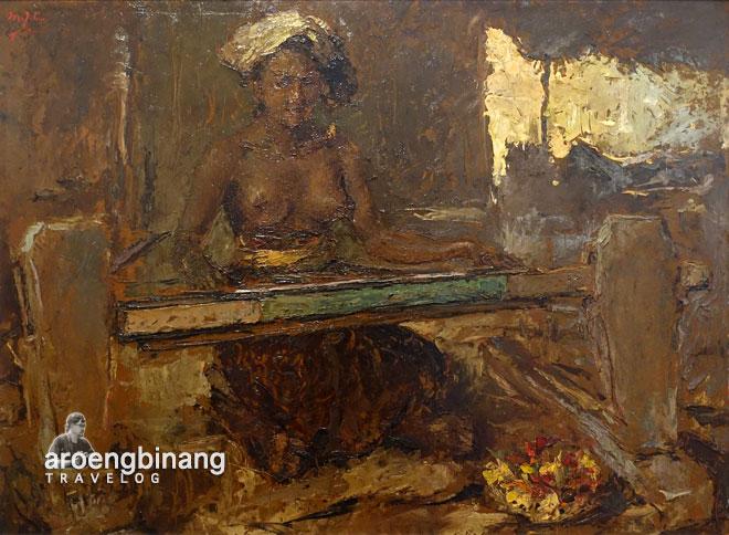 penenun bali lee man fong museum macan modern and contemporary art in nusantara jakarta barat