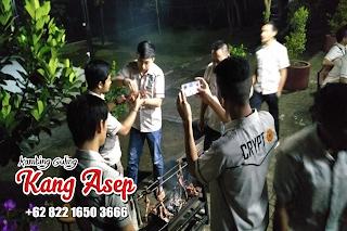 glamping seru bareng kambing guling kang asep lembang
