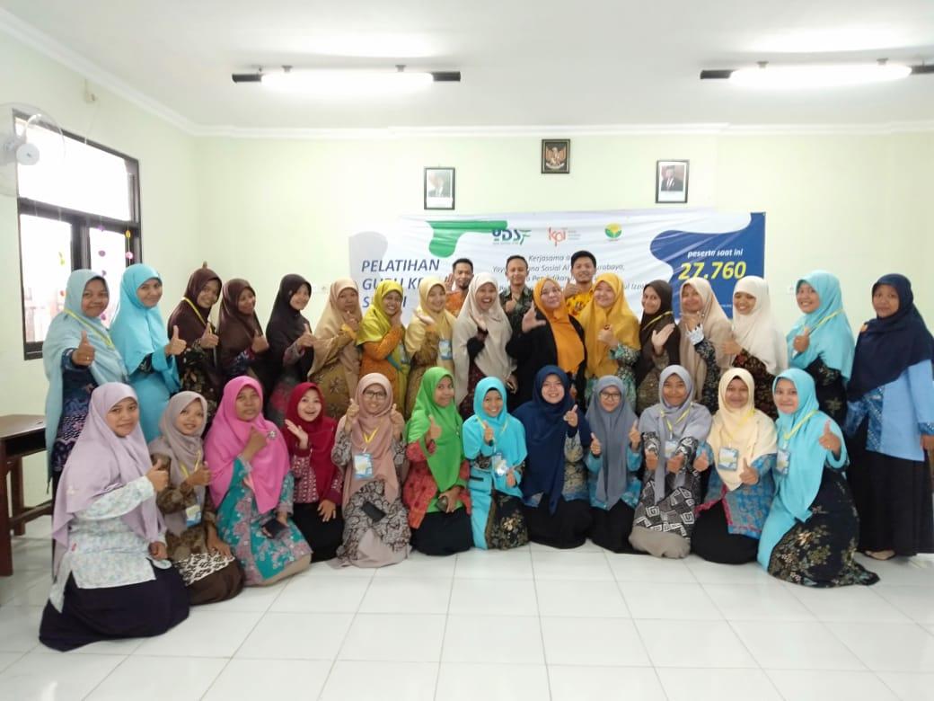 YPPU Nurul Izzah Gelar Pelatihan Menjadi Guru Hebat