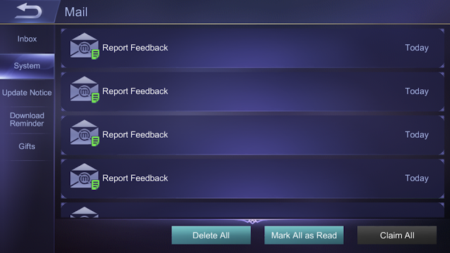 Report Violating Players Mobile Legends