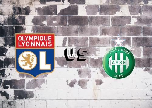 Olympique Lyonnais vs Saint-Étienne  Resumen