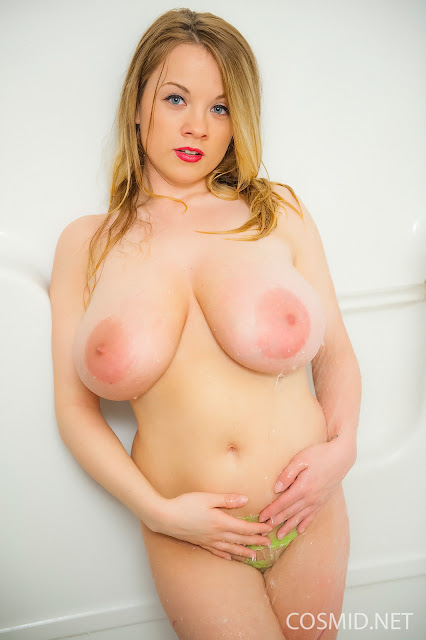 Emily Born naked boobs hand on panties